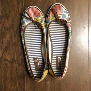 Coach Ballet Flat Sneakers